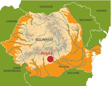 Arges (carte)